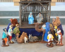 A nativity scene, or crèche, is a depiction of the birth of Jesus as described in the gospels of Matthew and Luke.