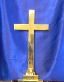 A cross in this simple form is known as the Latin cross or crux ordinaria representing the sacrifice of Jesus Christ.