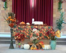 Scarecrows, pumpkins, and the fruits of a wonderful harvest.