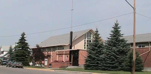The Olds United Church as it stands in 2009.