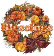 Wishing you blessings during the autumn season.